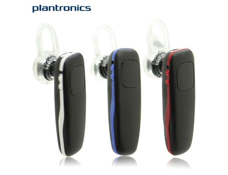 Tai nghe bluetooth Plantronics M70 với thiết kế chỉ ba màu đó là trắng đen, xanh dương và màu đỏ