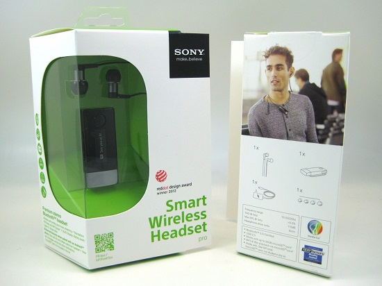 Fullbox tai nghe Sony Smart Wireless Headset pro