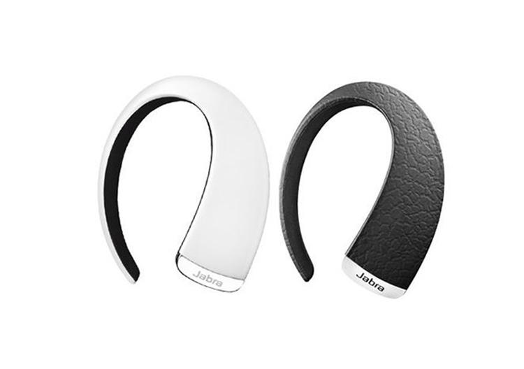 Tai nghe bluetooth Jabra Stone 2 chính hãng thiết kế hai màu sắc trắng và đen.