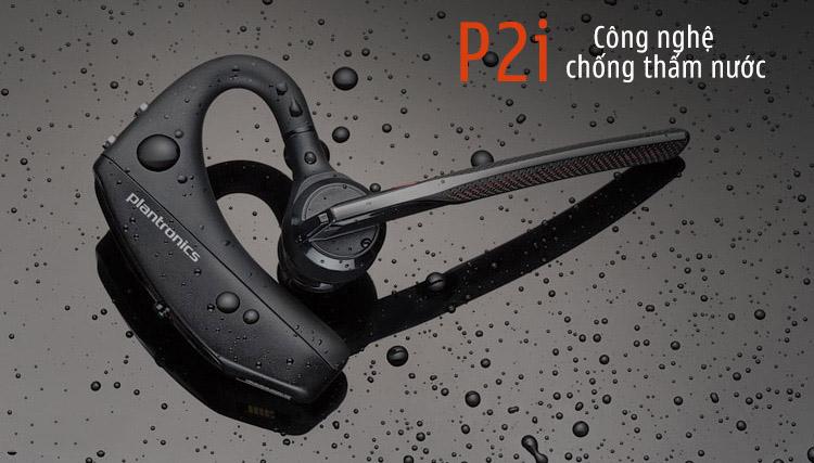 Được phủ nano bảo vệ khỏi tác hại của mồ hôi và độ ẩm (P2i)