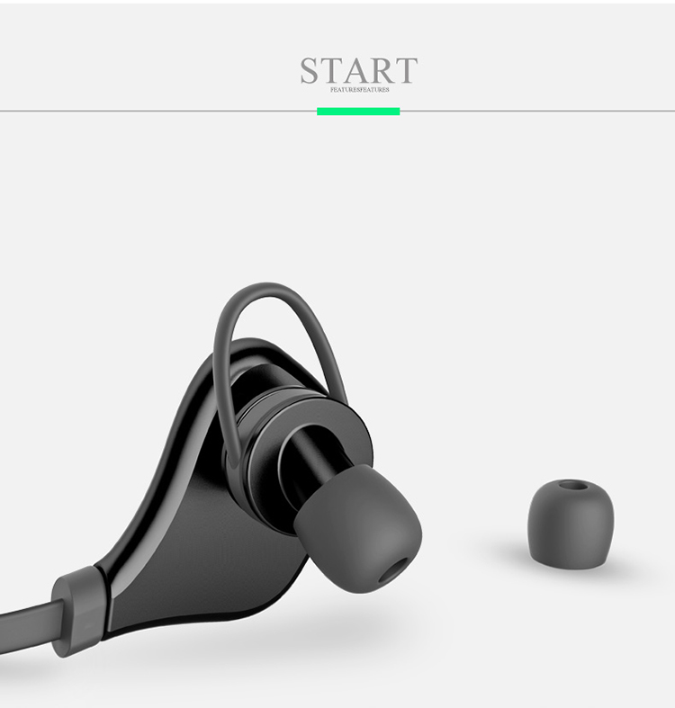 Núm tai nghe được làm bo tròn cùng với chất liệu silicon sẽ tạo cảm giác đeo thoải mãi