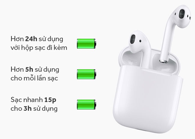Tai nghe bluetooth AirPods Apple