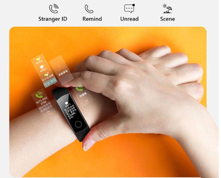 Vòng đeo tay thông minh Huawei Honor Band 4